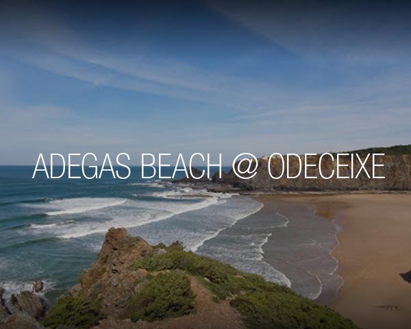 Adegas beach at Odeceixe