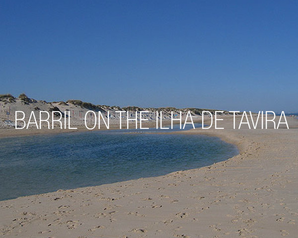 Barril on the Ilha de Tavira