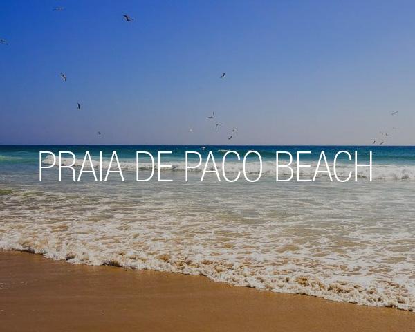 Praia de Paço Beach